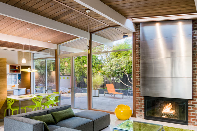 Sunnyvale Eichler Renovation with Deck