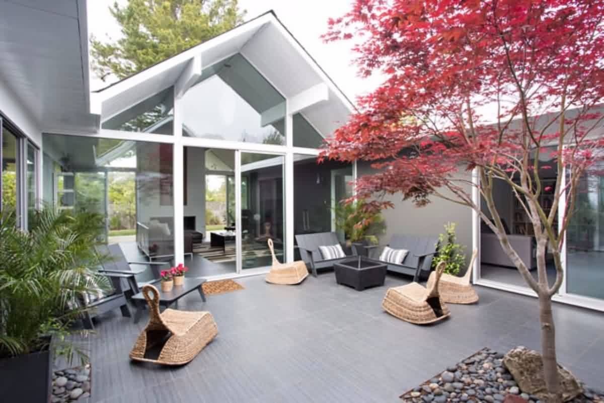 outdoor furnishings for eichlers